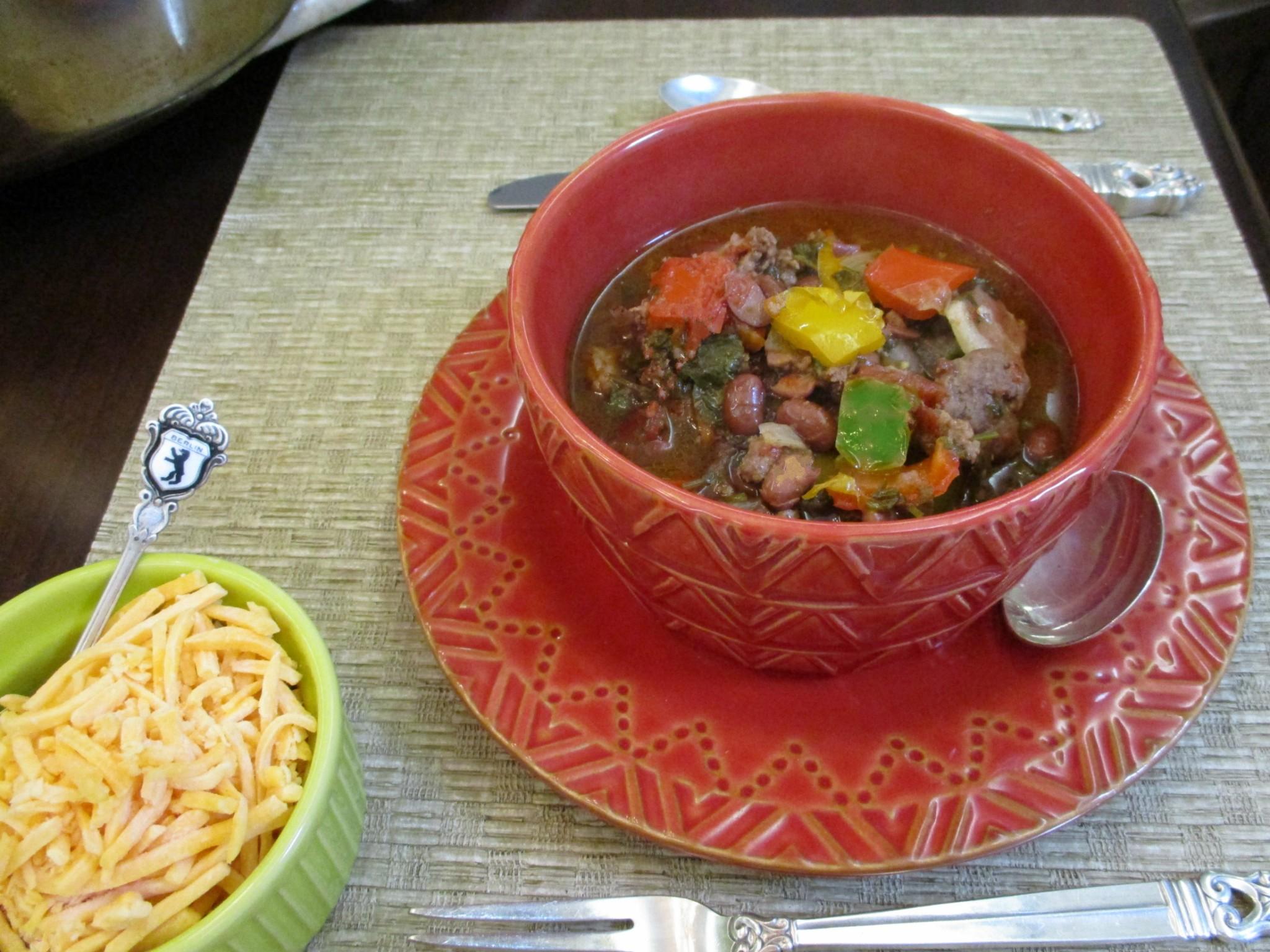 Tex-Mex Pepper Pot Soup